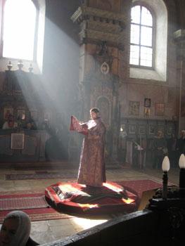 Serbian deacon